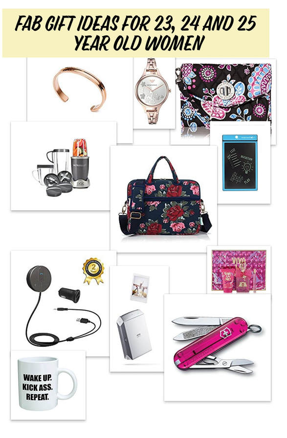 Fab Gift Ideas for 23, 24 and 25 Year Old Women
